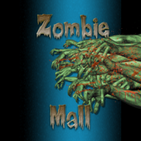 Zombie Mall Drink Coaster